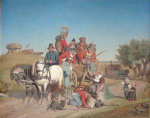 Kampen ved Dybbøl 1848