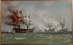 Kampen ved Helgoland 1864
